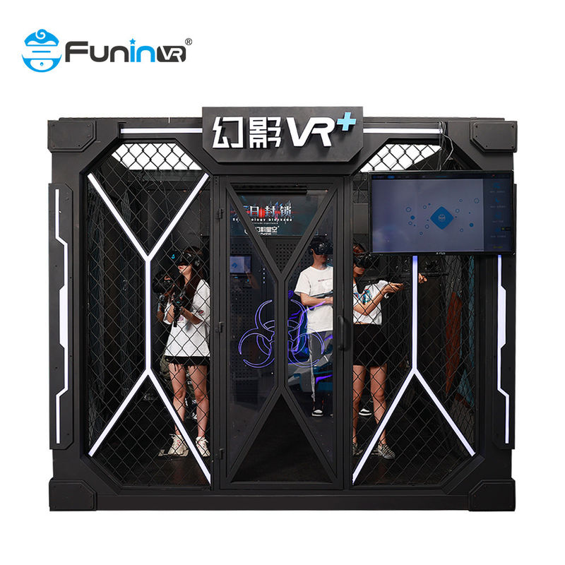 Weight 400KG Arcade Game Standing Battle Gun Shooting Virtual Reality Simulator For VR Park theme rides